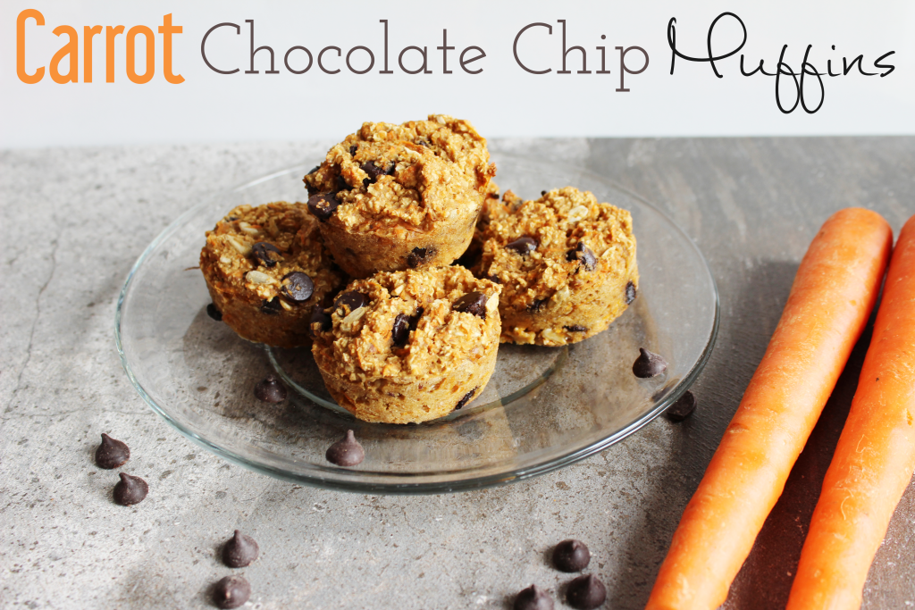 Carrot Chocolate Chip Muffins