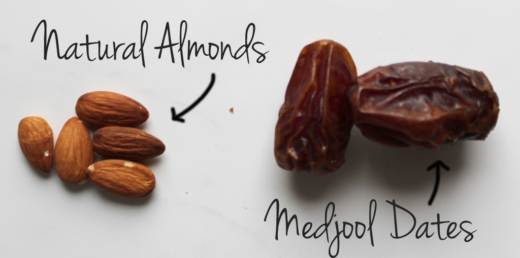 Natural almonds and sweet medjool dates give this almond date smoothie tons of flavor