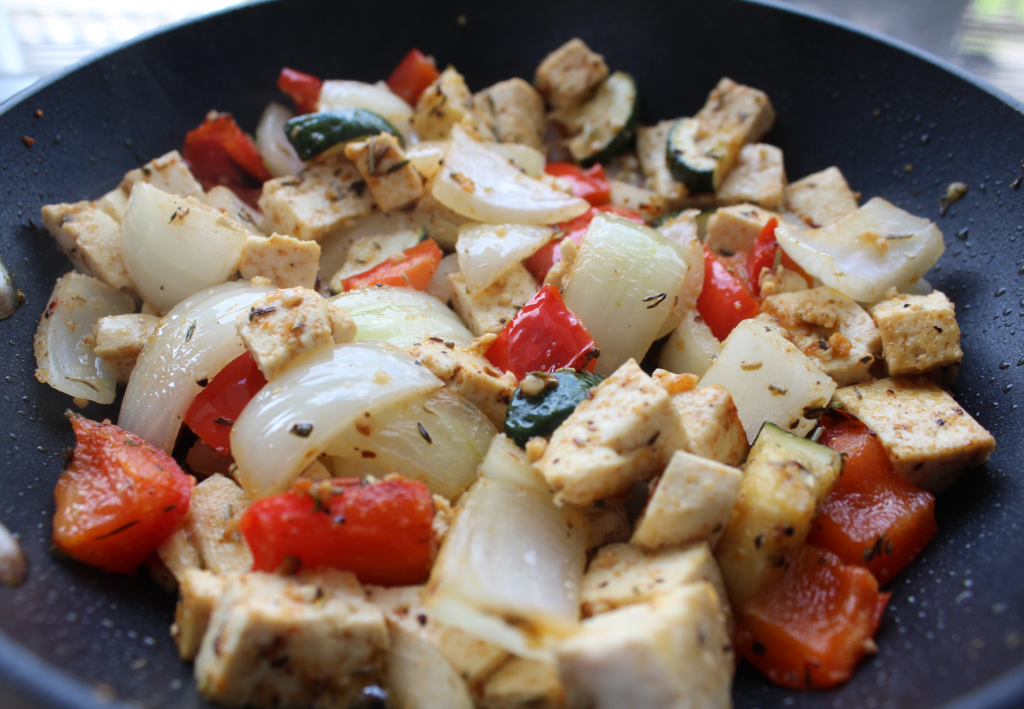 Maple Ginger Stir Fry is an easy and flavourful dinner