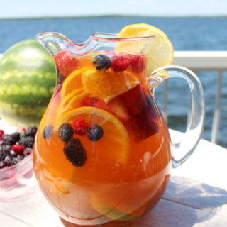 Jungle Juice Sangria Recipe    Perfect summer wine drink/cocktail loaded with fruit, juice and pop!    Nikki's Plate