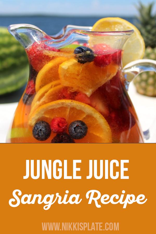 Jungle Juice Sangria Recipe