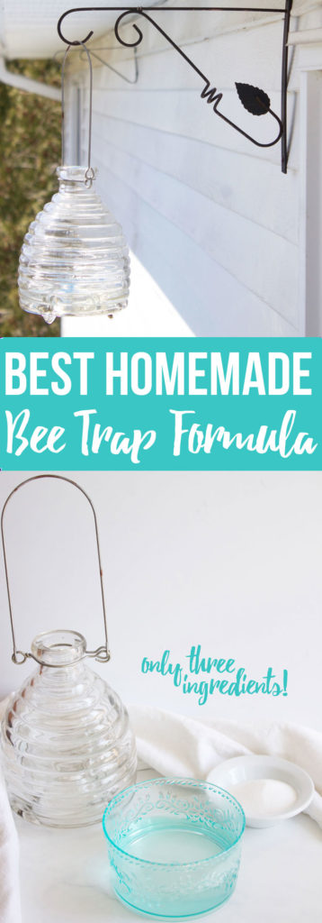 Best Homemade Bee Trap Formula; Homemade bee trap solution for your bee catcher- www.nikkisplate.com