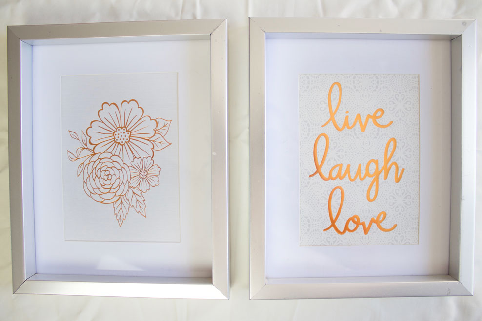 Easy DIY Framed Quotes - www.nikkisplate.com