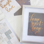 Easy DIY Framed Quote Art - www.nikkisplate.com