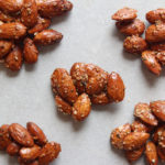 Honey and Hemp Roasted Almonds - www.nikkisplate.com