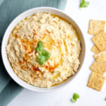 Spicy Chipotle Hummus www.nikkisplate.com