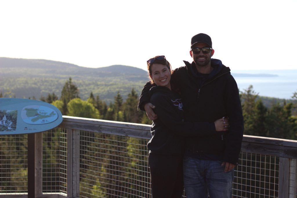 Fundy National Park in New Brunswick, Canada