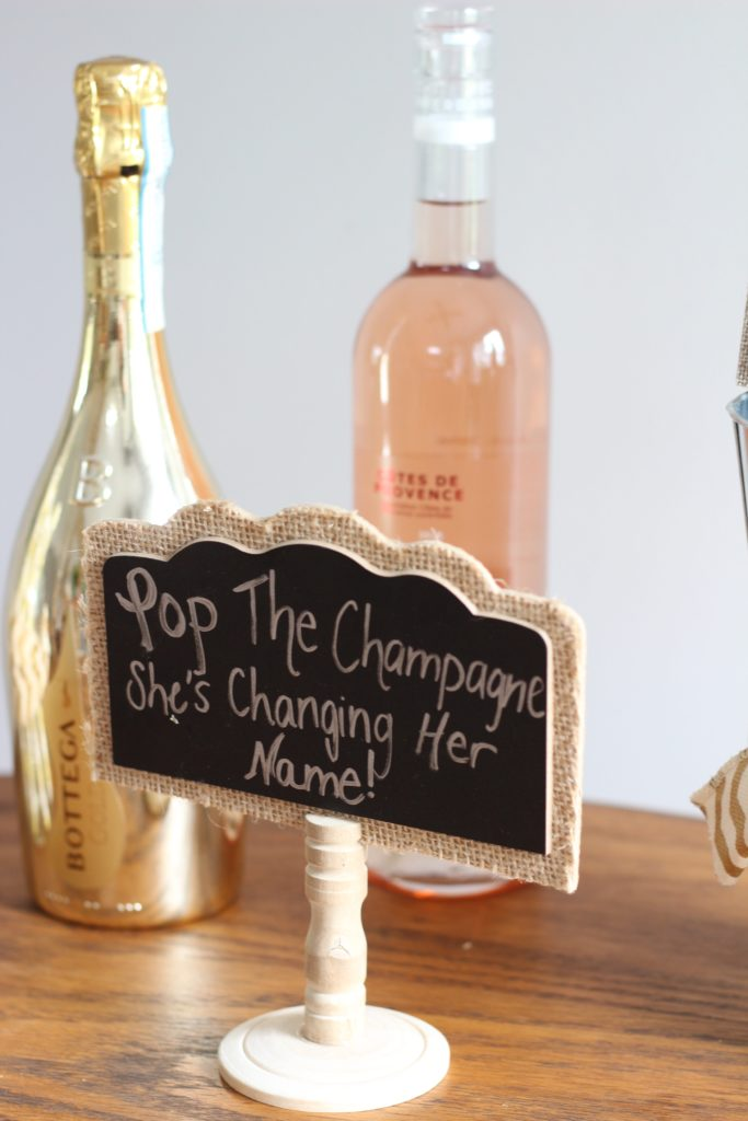 Champagne Party Decor