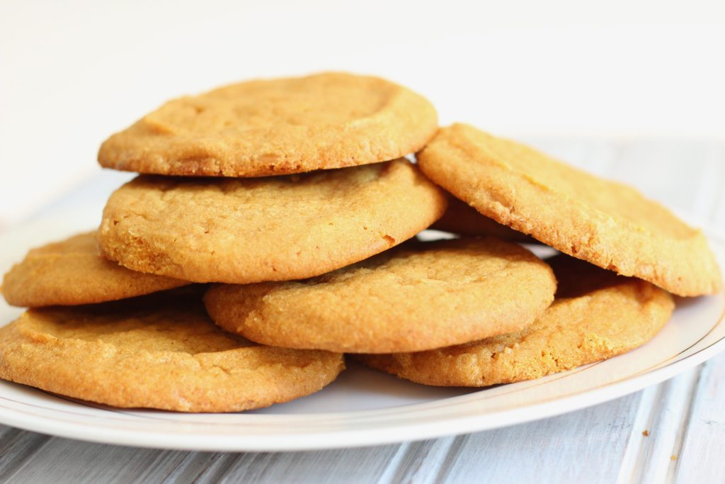 These easy pumpkin cookies are gluten-free, a perfect healthy treat packed with Fall flavors