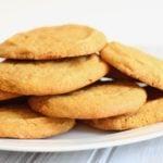 Gluten Free and Vegan Healthy Pumpkin Cookies - dessert, fall, autumn, pumpkin spice, dairy free - Nikki's Plate
