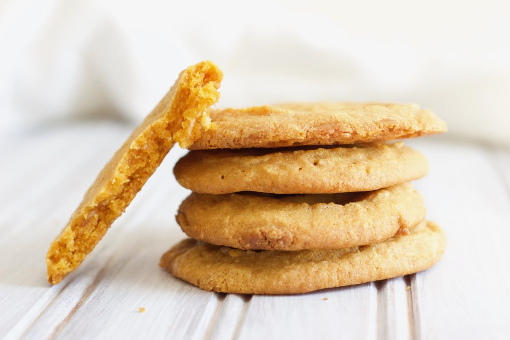 These vegan pumpkin cookies are a sweet, healthy treat that's so easy to make