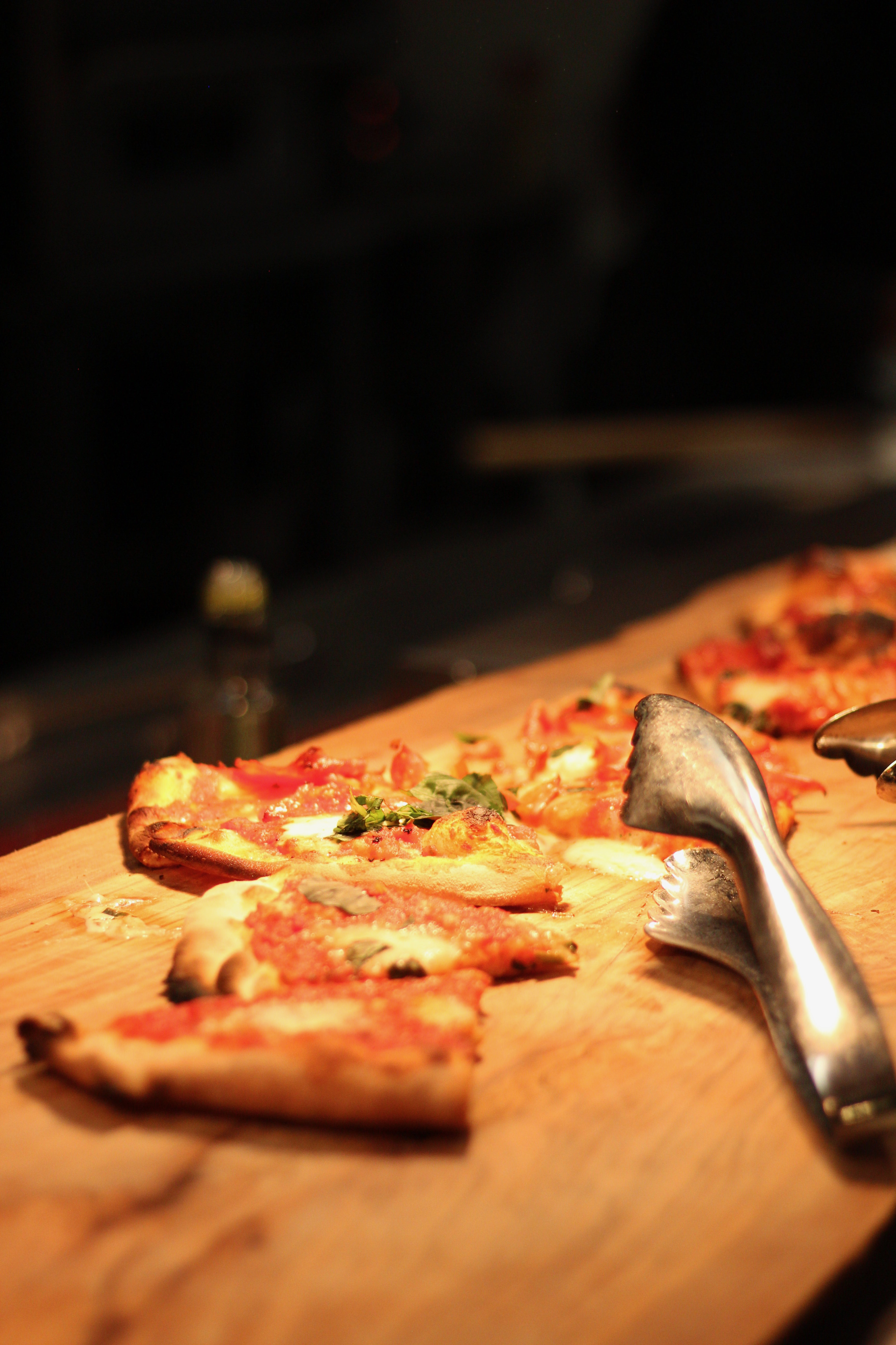 Flatbread for bloggers to try at the Le Chateau Parc event