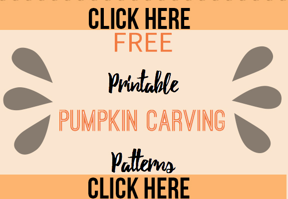 Click here to get free printable pumpkin carving patterns that you'll love.