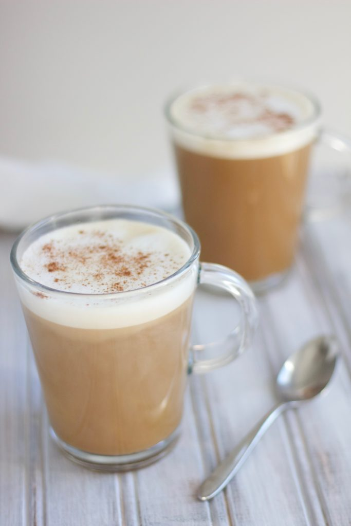 Enjoy a dellicious cup of this dairy free peanut butter coffee in the morning
