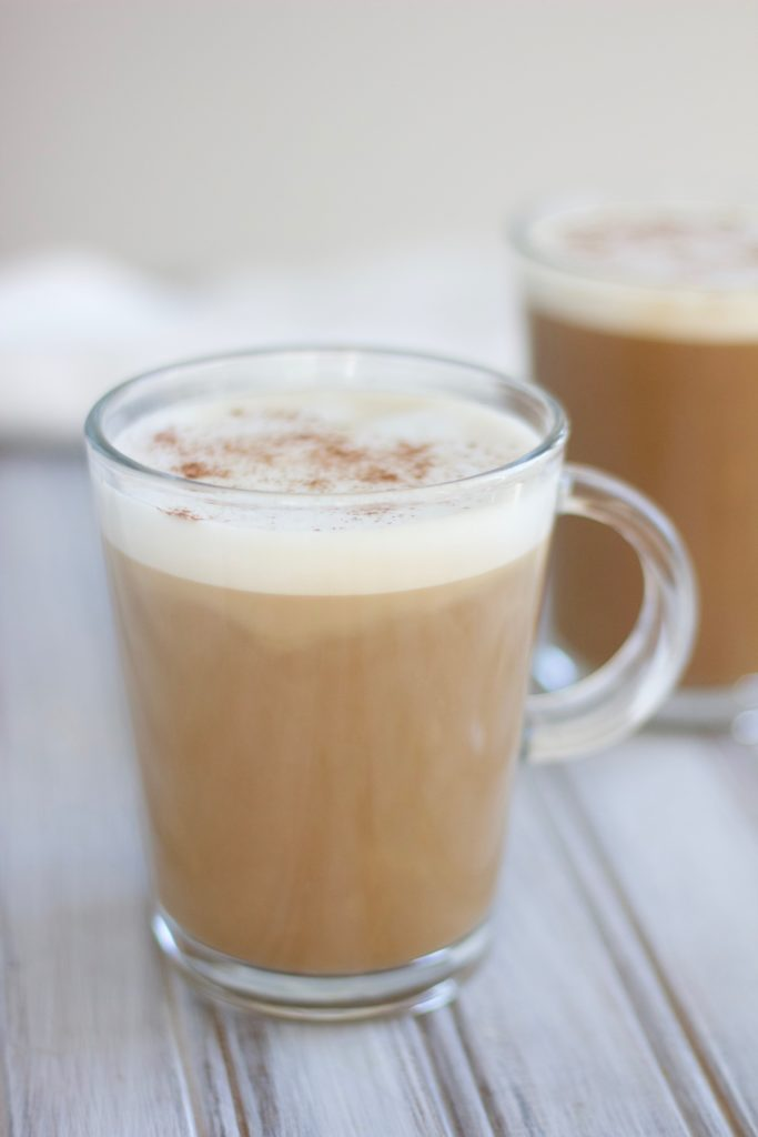 This dairy-free peanut butter coffee is the perfect morning pick-me-up, bursting with flavor!