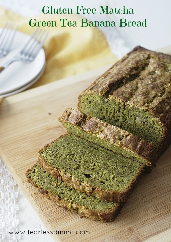 Matcha Banana Bread is a creative St. Patrick's Day Recipe that's healthy and delicious