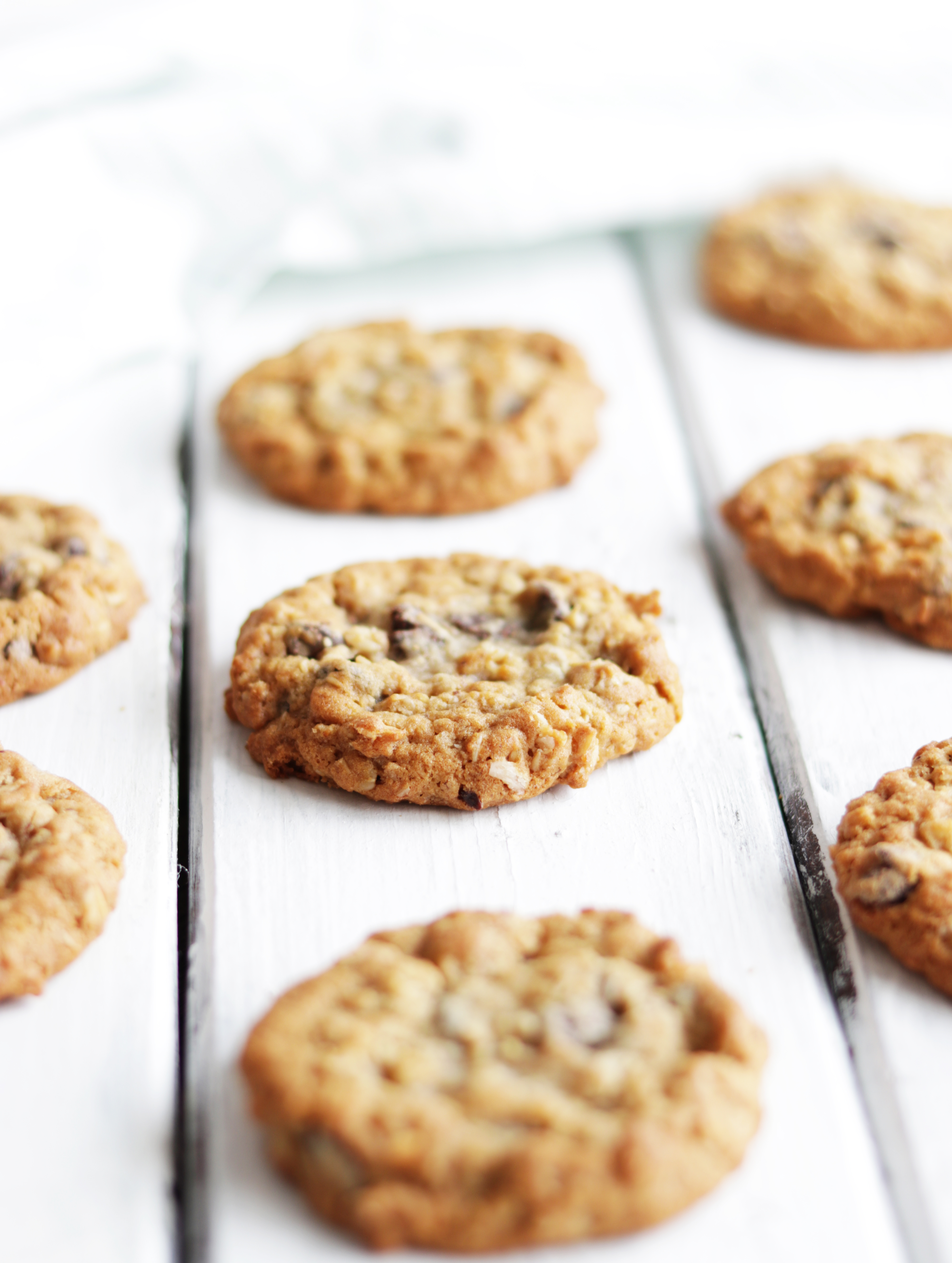 These are the softest, chewiest chocolate chip oatmeal cookies you will find anywhere!