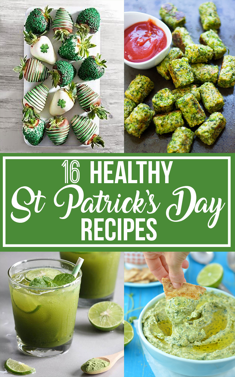 16 St Patrick's Day Healthy Recipes || Nikki's Plate