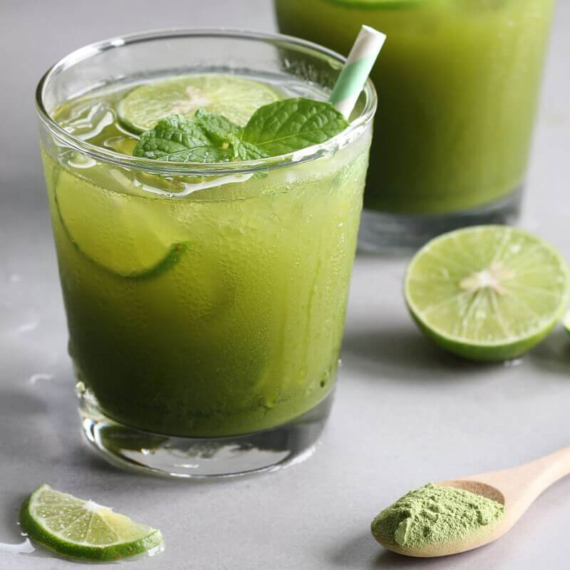 Green tea lemonade is a refreshing St. Patrick's Day drink