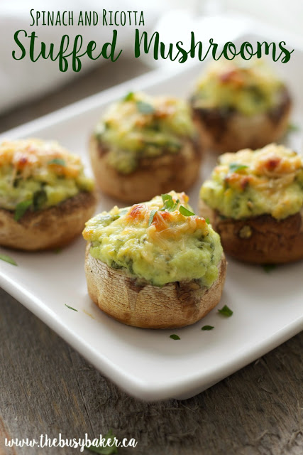 Stuffed mushrooms are a great St. Patrick's Day appetizer