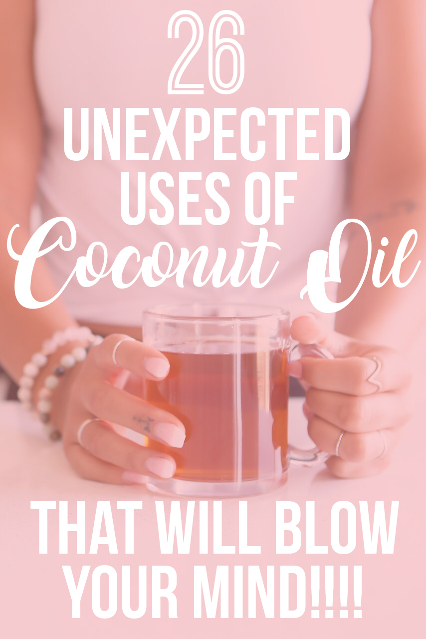 26 Unexpected Uses for Coconut Oil: Here are some creative ways to use coconut oil in your everyday life!