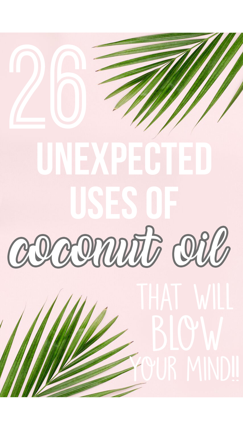 26 unexpected uses of coconut oil || health remedies, life hacks, alternatives, health benefits || Nikki's Plate www.nikkisplate.com