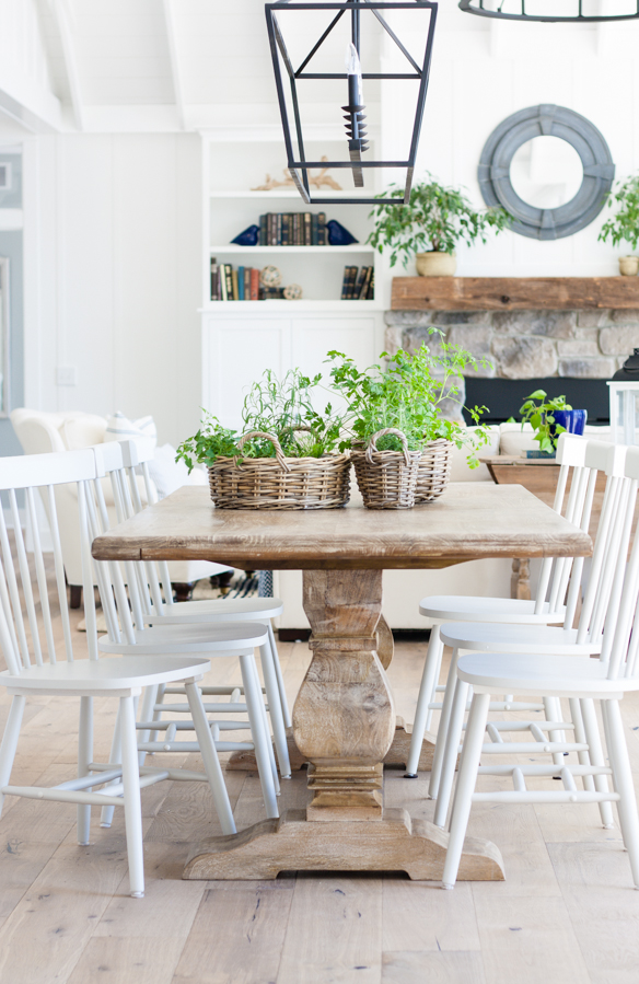 Friday Favourites; including my dream house, favourite new kitchen must have, and recipe much more! Cottage dining room bright white