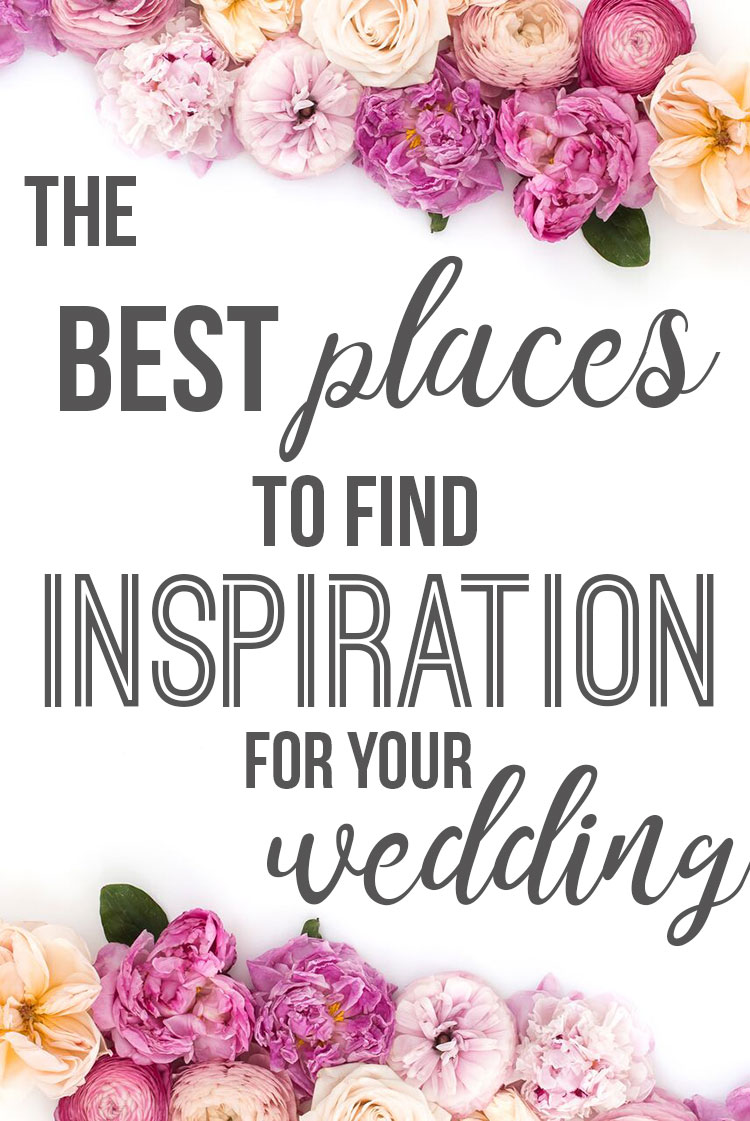 Best Places to Find Inspiration For Your Wedding; Looking for some wedding inspo?Here is a list of the top platforms and places to get your wedding planning juices flowing! Best ways to find your style and kill the wedding decor.|| Nikki's Plate www.nikkisplate.com