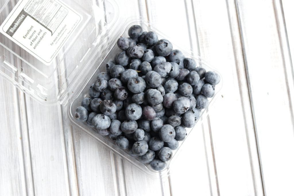 Fresh blueberries are the perfect addition to this healthy overnight oats recipe