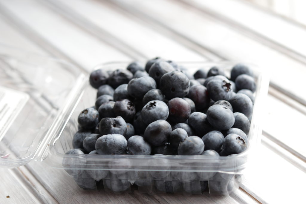 A love adding fresh blueberries to my breakfasts, they're packed with healthy anti-oxidants