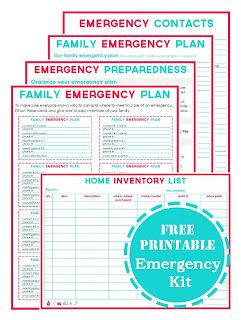 How To Keep Your Home Under Control In An Emergency; ways to keep your house safe and ready for when a disaster or emergency hits!