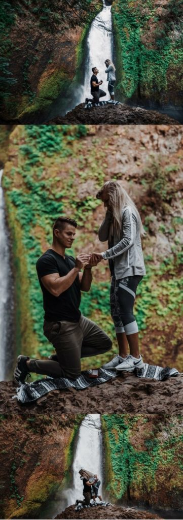 Take your partner on a romantic trip and pop the question with a gorgeous background