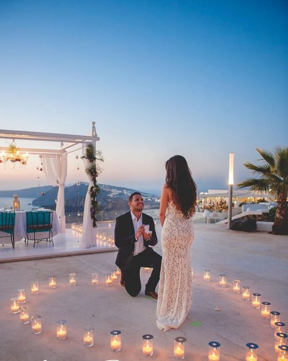 A destination proposal is a romantic way to propose to the love of your life