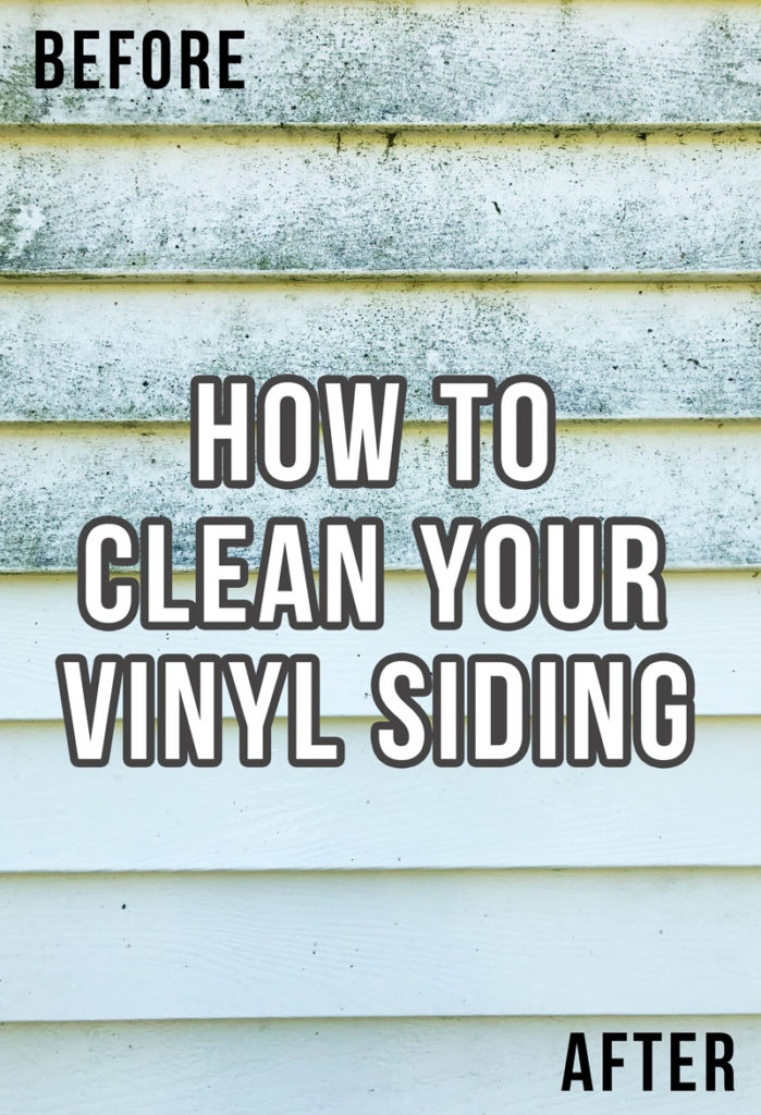 Here's how to clean vinyl siding on your home to make your home siding look clean and good as new