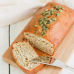Pumpkin Banana Bread {Vegan & GF}; a delicious fall, dairy and gluten free, bread for all pumpkin spice lovers! This autumn bread will be a winner in your house! || Nikki's Plate www.nikkisplate.com