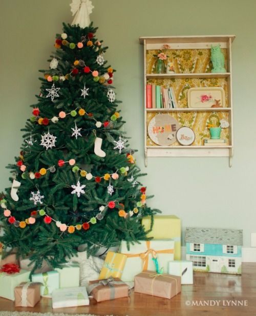 Adding garland to your Christmas tree is a great way to dress up your tree with a little extra flair