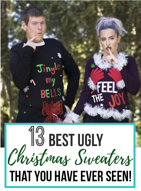 143 of the Best Ugly Christmas Sweaters - Creative, Funny, Naughty, and Ugly Sweaters for Your Christmas Party