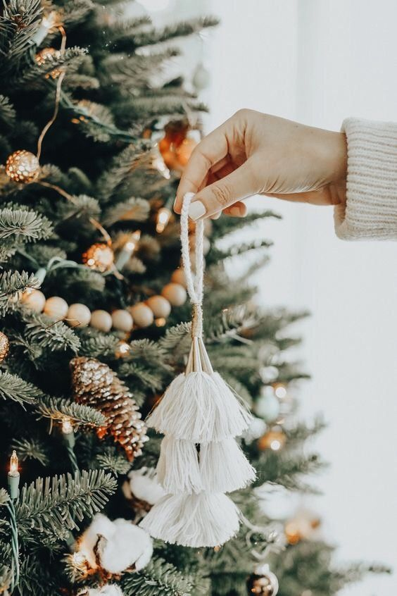 Unique ornaments are the best way to express your personal style in your Christmas decor