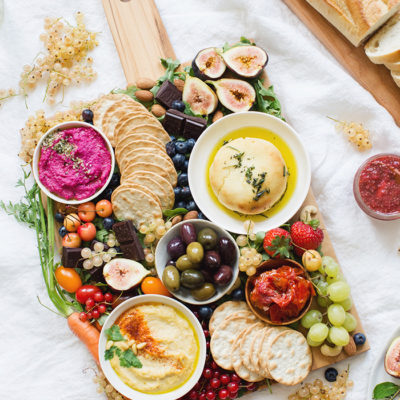 Vegan Charcuterie Board Ideas; options for a appetizer platter to please everyone in the family! Stay healthy this holiday season with this spread of goodies #charcuterieboard #veganappetizers #cheesefree #vegetarianappetizers    Nikkisplate.com