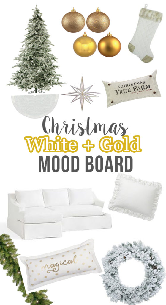 Decorate for Christmas this year with these must-have white and gold Christmas decorations.