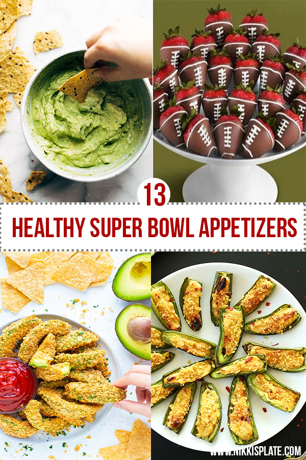Healthy Super Bowl Appetizers (Vegan, Gluten Free, Sugar Free)    Avocado Dip and Chips #superbowl #appetizers #healthy #vegan    Nikki's Plate