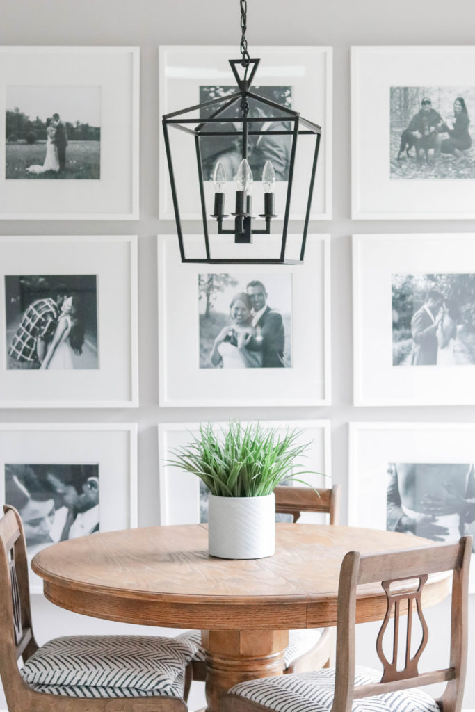 Check out these photo gallery wall tips and tricks to make sure you create a perfect gallery wall with no stress!