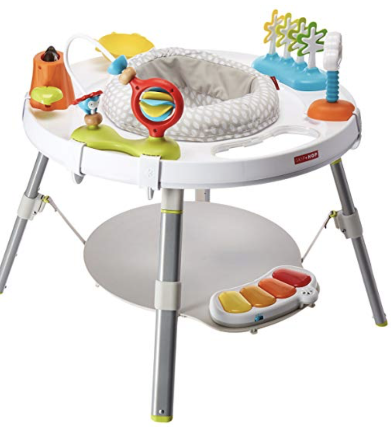 The Little Baby Holiday Gift Guide; Have a new baby to buy for this Christmas? Here are some present ideas for him or her! activity center #holidaygiftguide #newbaby #toys