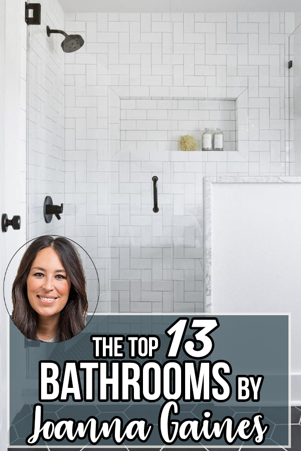 Best Bathrooms by Joanna Gaines; Fixer upper's top bathroom renovations by Joanna and chip Gaines! These rustic, country with hints of modern perfection bathrooms are everything