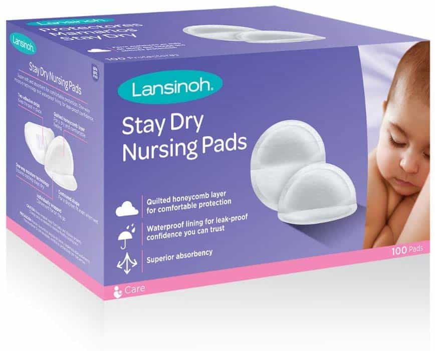 My Postpartum Must Haves: nursing pads for the breastfeeding mom to help your painful and leaking nips