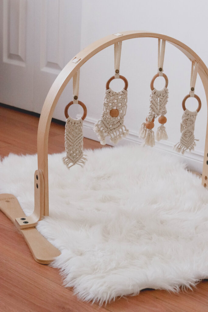 Macrame Play Gym for babies