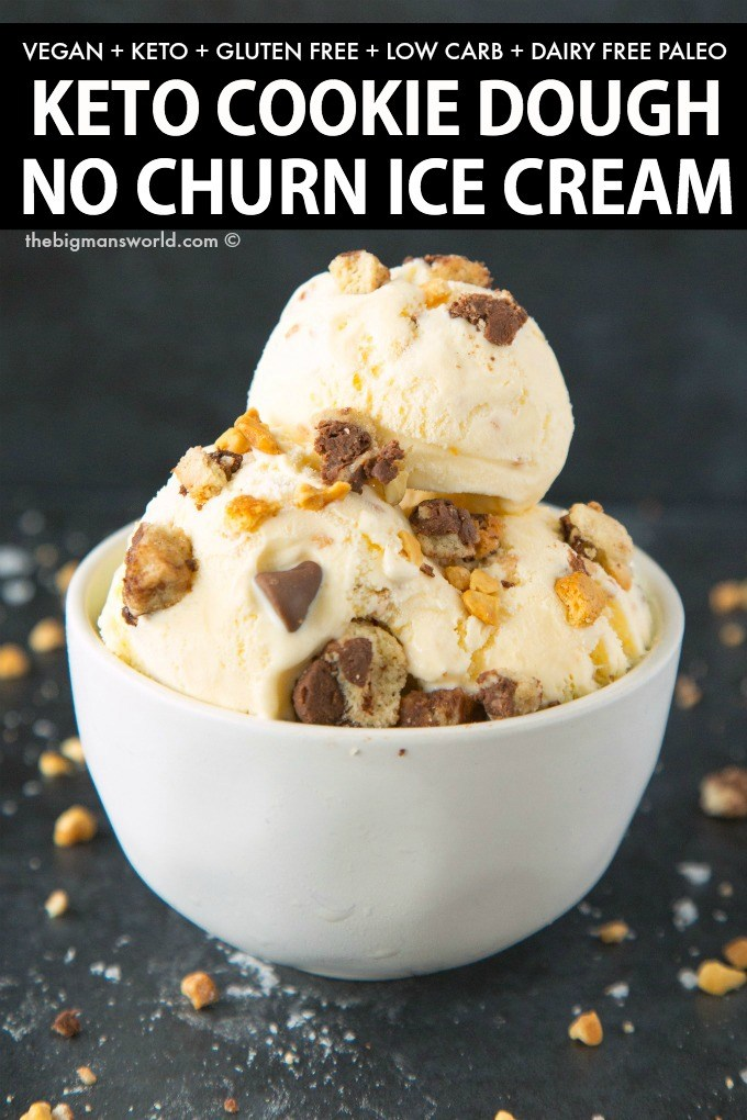 This vegan cookie dough ice cream is too good to be true... it's a simple, sinfully sweet, healthy dessert that you'll want to make again and again!