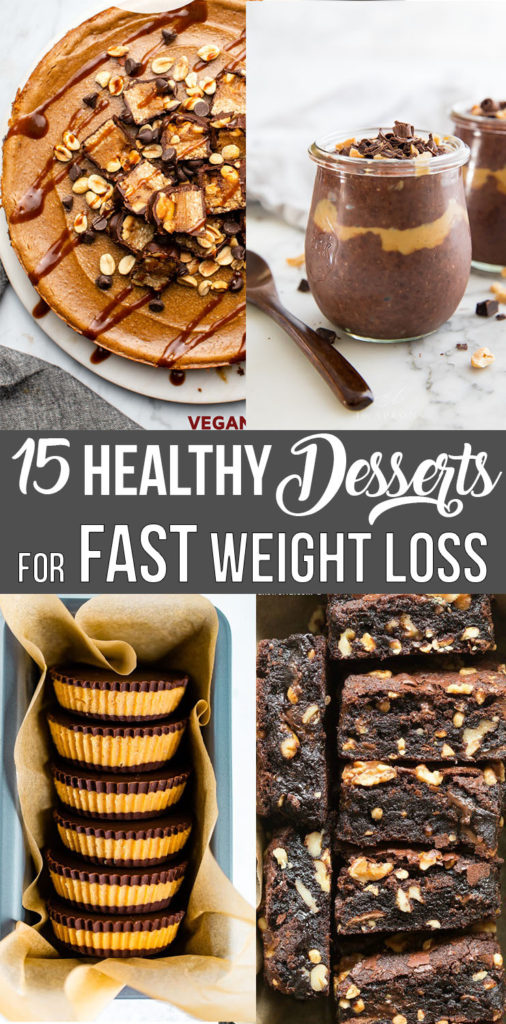 15 Healthy Desserts for Fast Weight Loss; Eat your sweets and lose weight at the same time!    Nikkis Plate