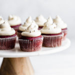 15 Healthy Desserts for Fast Weight Loss; Eat your sweets and lose weight at the same time! - red velvet cupcakes || Nikkis Plate