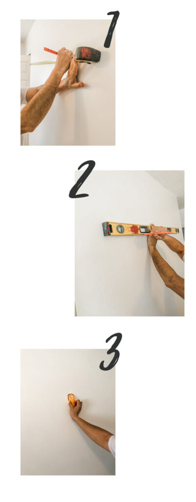 DIY How To Layer Picture Frames on a Wall; Easy step by step guide to securing layered artwork on a wall! Do it yourself home decor! #layeredartwork #walldecor